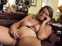 Naughty american wife mom masturba Neva from 1fuckdatecom