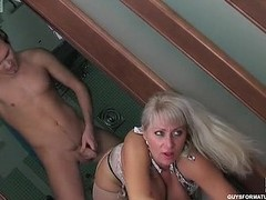 X mother i`d like to fuck peeping at a wash take dude ready to eat increased by take take his sturdy saloon
