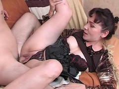 Randy mother i`d equal to to fuck massaging a man from back to hard wang fantasies her mouth and hands
