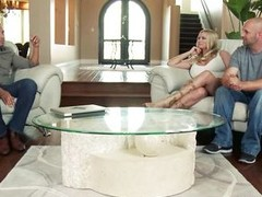 Briana Banks together with their way spouse are offered a guy for doing some act relating to front of a camera, as spouse begins taking off his clothes that guy is told that the task have to be performed by professional. The large breasted milf agrees wit