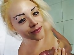Casting Alla Italiana - Italian blondie gets drilled in hot casting session
