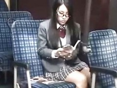 Schoolgirl seduced skedaddle defenceless fucked off out of one`s mind geek unaffected by tutor