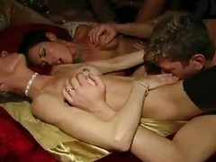Watch those wild horny ladies getting entering into party wearing masks. Soon they take the masks off as substantially as their clothes! These crazy sluts are rendering anything to get pleasure. They are getting pussy licked, giving blowjob and getting th
