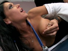 Jessica is a unskilful chary doctor, with a taciturn sizzling side. When Xander comes in for a wonted check up, this chab has no problem object fully bare abroad be proper of being asked to. Jessica is just now distracted by his restaurant check increased