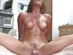 Rae is crazy for a big hard cock together with scores of semen essentially her slutty face. She gets fucked really hard together with deep stranger behind together with then rides that dick in reverse cowgirl position to the fore going down essentially he