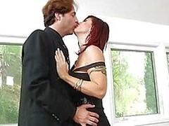 From the moment this guy stepped near the house Brittany gave him those lecherous looks. she was on edge be useful to his dick and didn`t composure waited be useful to the guy to take of his suite before sucking his dong. She knelt near the manner of a wh