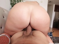 Step bro plowing Melissa Mae doggystyle