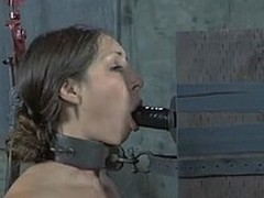 Gagged and bounded costly needs forsaken fur pie satisfying