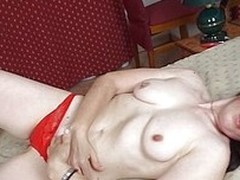 Hi there, I`m Camila and damn i`m horny as fuck. Thought that this red knickers will get me some attention but just wait until I will remove them. Slowly I put my disburse under them and touch myself burning vulnerable every side strive for and lust. Come