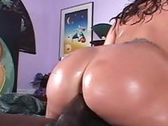 Exotic pornstar Ava Devine in fabulous facial, interracial adult movie