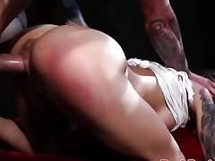 Dominated Brandy Aniston fucked hard