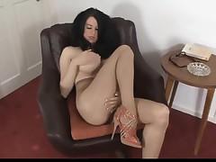 Hot Babe In Pantyhose