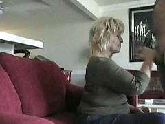 Sex tape with my blonde mom