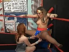 Pantyhose Wrestling at Clips4sale.com