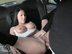 Hot Candi enjoys standing and doggystyle