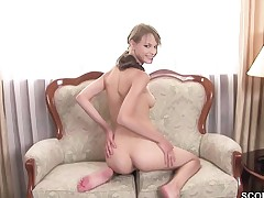 Extrem Petite Teen in Real Anal Fuck Casting by Big Cock