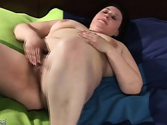 Huge mature mom playing with her h Iesha from 1fuckdatecom