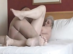 An amateur movie being made by couple she's attached from b