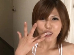 Double Blowjob For This Hot Asian Indulge