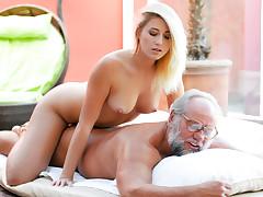 Aria Logan & Albert in Grandpapa Got Me Wet - 21Sextreme