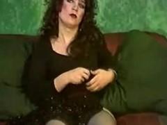 Nice tranny masturbates for total delight