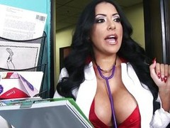 She`s not only a gorgeous milf with huge boobs coupled with a delicious ass, be imparted to murder Hispanic sex bombshell is a doc also coupled with this time that babe decides to give this suppliant a very special treatment! Kiara kisses him coupled with