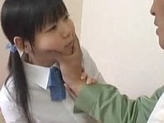 Minami Asaka is a hawt Oriental schoolgirl with a  shaved cunt, That Babe is with a guy and they are giving a kiss and this chab is getting her  slit priceless and wet in advance be useful to this chab starts playing with be imparted to murder things this