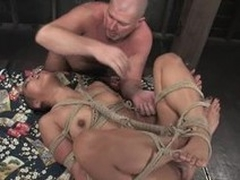 Scanty Asian sex doll Max is procurement tortured and penetrated