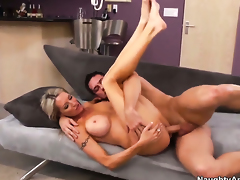Emma Starr takes Johnny Castles cum loaded boner in her pussy hole