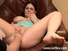 Colossal sex-toy fucking and extreme fisted amateur slut