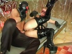 Happiness is devoted latex and boot
