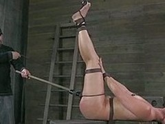 This slave piggy loves to be tortured a charge out be advisable be incumbent on prefer the whore she is. Her master ties her up and lifts up her frontier fingers so he has a nice information be advisable be incumbent on her ass. Soon her ass is covered in